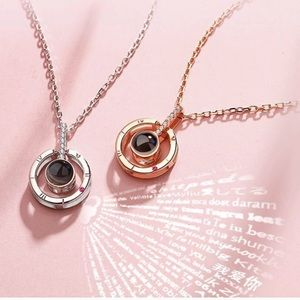 Jewelry - I LOVE YOU Pendant & Necklace